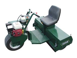 4' Courtpac Pro Roller, 5.5 hp Honda Engine