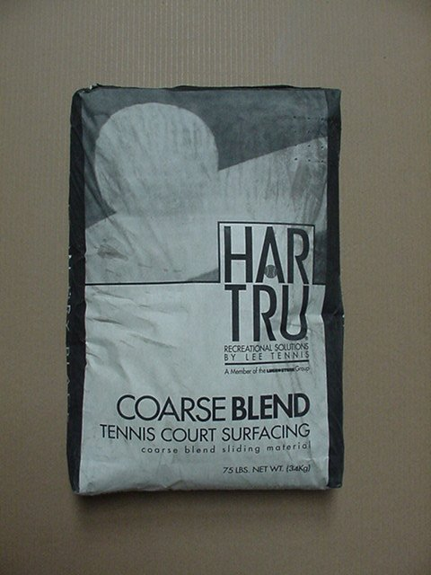 Coarse Blend Material Thirty-Five 75 Lb Bags